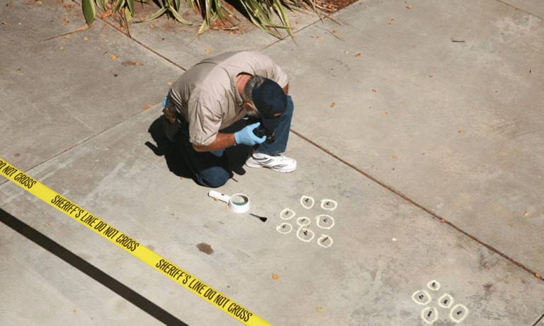 photography criminal investigations